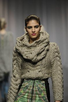 Dominique Kral F/W 2011 - love it!    ♪ ♪ ... #inspiration #diy GB http://www.pinterest.com/gigibrazil/boards/
