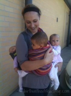 This mama birthed her triplets naturally! Not kidding!