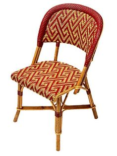 Saint Lazare - 3453 Authentic Bistro Chair Handmade in France, TK Collections