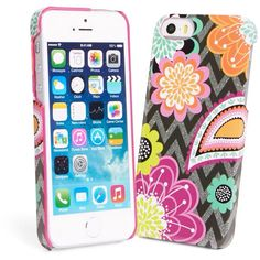 Vera Bradley Ziggy Zinnia iPhone case for 5/5S
