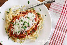 Baked Chicken Parmesan - An Italian classic, lightened up.