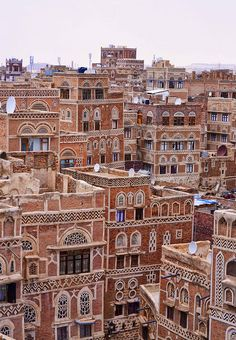 Amazing Places Sana'a - Yemen (von Rod Waddington) The Places Youll Go, Places To See, Places To Travel, What A Wonderful World, Beautiful Places, Lovely Things, Amazing Places, Travel Around, Middle East