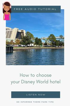 With over 25 hotel options, Disney World can be a very confusing destination. Find out how to narrow down your choices and make your decision to find your perfect Disney World hotel. All in a convenient audio format! From Maven at GoInformed.net/59 Disney World Hotels, Walt Disney World Vacations, Best Vacations, Orlando Theme Parks, Hotels And Resorts, Choices, Audio, Travel, Instagram