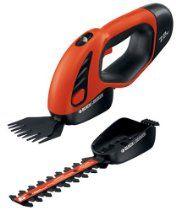 Black & Decker SSC1000 7.2-Volt Interchangeable Cordless Electric Shear/Shrubber