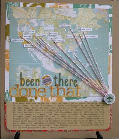 Been there done that - SUCH A CLEVER LAYOUT - love it - Specially if you have traveled a lot locally or internationally!