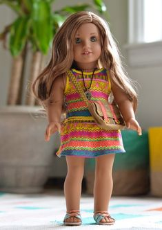 American Girl Doll, Girl Of The Year, Lea Clark Giveaway | MarinoBambinos