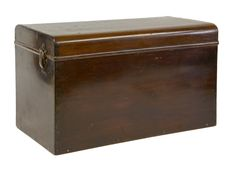 A rare Louis Vuitton mahogany 'malle outils' (toolbox trunk), early 20th century, with exposed dovetails and brass fittings, the clasps stamped 'Louis Vuitton' and 'LV Sold for £1400
