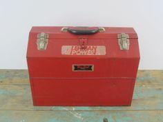 VINTAGE SNAP-ON BLUE-POINT MECHANICS ELECTRON. TOOL BOX KRW48 Blue Point Tools, Tool Board, Vintage Tools, Tool Storage, Decorative Boxes, Decorative Storage Boxes, Shed