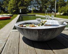 Amazing Zinc outdoor coffee table