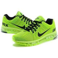 http://www.asneakers4u.com/ Discount 2013 Nike air max mens&womens sneakers green black sz 36 45