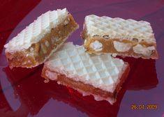Karamelové oplatky Krispie Treats, Rice Krispies, Vanilla Cake, Waffles, Cheesecake, Bread, Breakfast, Food, Morning Coffee