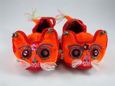 Chinese Tiger Head Shoes