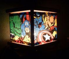 Superhero Night Light Lamp Spiderman Ironman The Hulk Thor $23