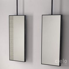 Argo wall mirror with or whitout led light Arcadia - Mirror colored bathroom Ceramica Cielo