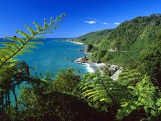 I took pic very similar to this....Google Image Result for http://1.bp.blogspot.com/_E8qkZqRfIRg/TKsLKC0D4YI/AAAAAAAAEQY/r9ZvvItZ5DY/s1600/Paparoa+National+Park,+South+Island,+New+Zealand.jpg