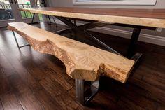 Parota live edge table