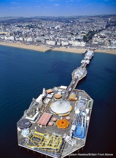 Brighton Pier: Jason has specialised in aerial photography since 1991 and has produced more than 40 aerial photographic books for publishers