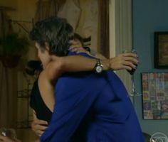 Clara e Cadu comemoram parceria com Verônica e Laerte