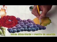 (113) Bodegón pintado en Tela (3/5) - YouTube Coloring Tutorial, Decoupage Paper, Fabric Art, Youtube, Paintings, Painting On Fabric, Tejidos, Drop Cloths, Handmade Crafts