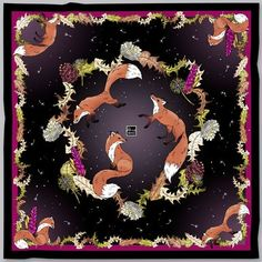d9ca510ea2a7 77 Best Silk Scarves by Designer Becca Who images in 2019