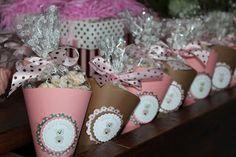 Incollati Craft: Festa Ursinha Rosa e Marrom
