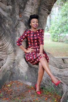 BLACKBEAUTYBAG: NATACHA BACO MEETS BRAZZAVILLE
