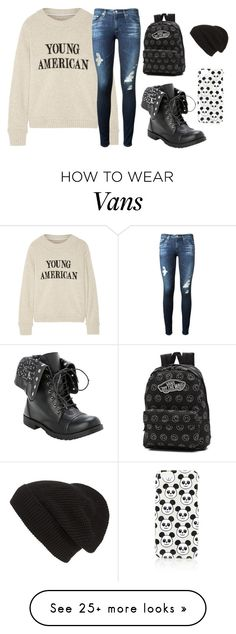 """Another day a different way"" by josie-posie on Polyvore featuring mode, The Elder Statesman, AG Adriano Goldschmied, Vans, Phase 3 en Topshop"