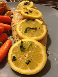 The Bachelor's Cookhouse: Garlic Baked Basa Fish