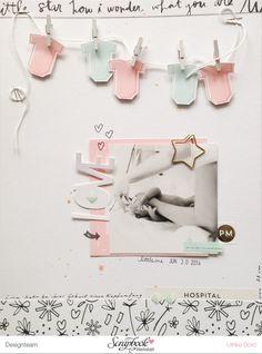 Love - Layout mit Seven Paper Clara von Ulrike Dold