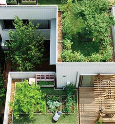 吹抜け・中庭・屋上のある暮らし   ヘーベルハウス   実例・くらし方・商品