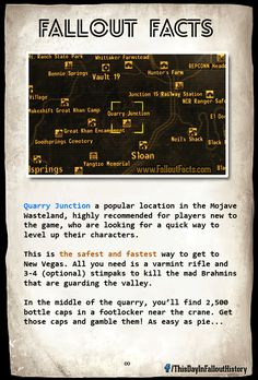 Fallout Facts. WHY AM I JUST DISCOVERING THIS NOW