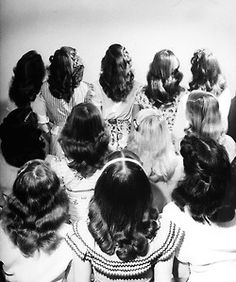 1950's hairstyle trends