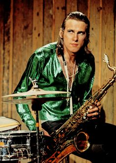 Andy Mackay - sax man and composer for art rock greats, Roxy Music.