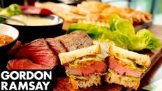 Gordon shows you how to make the ultimate steak sandwich with an excellent tomato relish and mustard mayonnaise. A mouth watering, delicious classic with a m...