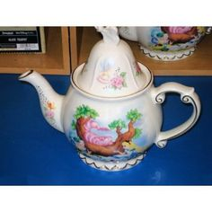 Disney Alice in Wonderland Tea Pot: Amazon.com: Kitchen & Dining