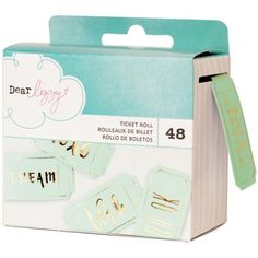 American Crafts Dear Lizzy Documentary - Ticket Roll
