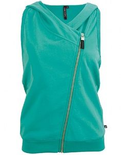Active tank hoodie workout-clothes