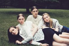 Field Day | Grace Anderson, Savannah Hall, May Bell & Ruth Bell  by Letty Schmiterlow