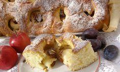 W Mojej Kuchni Lubię.. : jabłka śliwkowe w leniwej, puszystej drożdżówce......