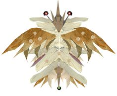 """""""Newly Discovered Flying Insect (Cutout #2)"""" by ellen-hilart ❤ liked on Polyvore"""