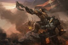 FOR THE IRON HORDE by YanmoZhang.deviantart.com on @deviantART