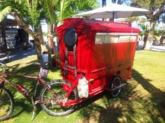 green design, eco design, sustainable design, caravan, Gypsy Caravan, Barry Howard, Aimlessly Wandering Artist, mobile home, tiny home on wheels, bicycle caravan, bike caravan, caravan on a bike