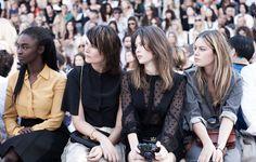 Aïssa Maïga, Marina Hands, Lou Lesage and Camille Rowe