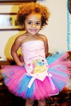 DIY Tutorial DIY Children Clothes / DIY No Sew Pastel Ribbon Tie Tutu - Bead&Cord