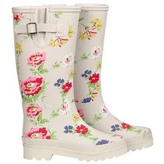 Cherry Spot Wellington Boots from Cath Kidston....