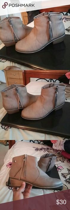 Ankle boots...perfect condition, worn once Cow girl boots Breckelles Shoes Ankle Boots & Booties