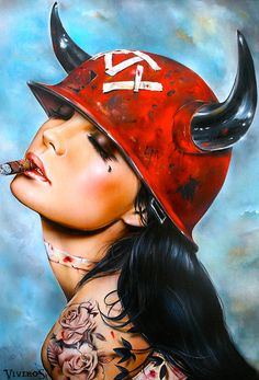 Brian M. Viveros. Paintings by Brian M. Viveros on... - supersonic electronic / art