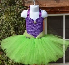 Little mermaid inspired tutu dress/Disney por Sototallyprincess