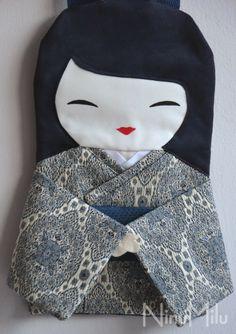 NinuMilu - torebki lalki - handbag dolls for girls: Piękna elegancja