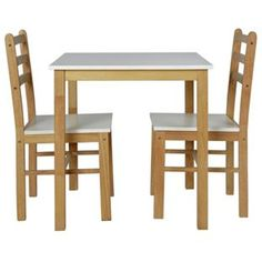 Buy Lily Two Tone Dining Table & 2 Matching Chairs at Argos.co.uk, visit Argos.co.uk to shop online for Bistro sets